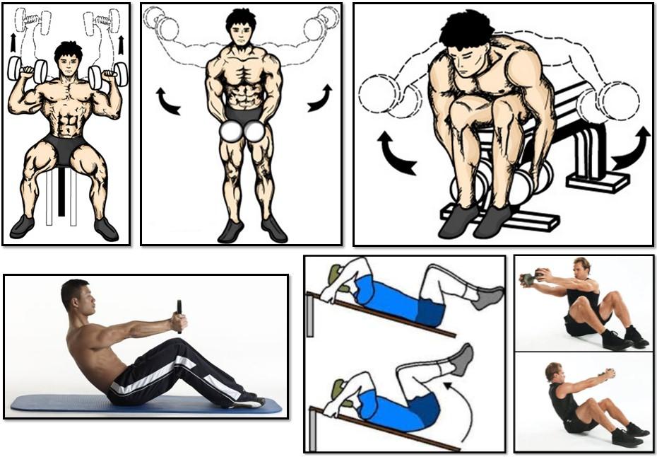 сколько упражнений в одной тренировке президента России список