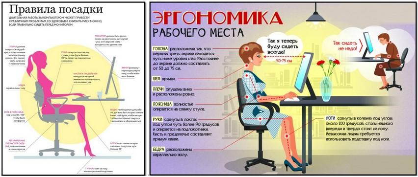 как улучшить осанку, плакат 3