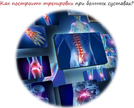 Хрустят и болят суставы, статья лого
