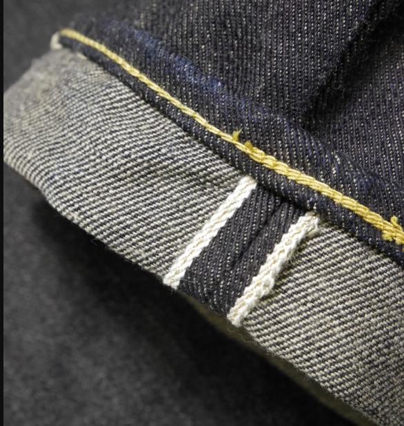 9d03bea2437fe5c Его особенностью является направление плетения - здесь оно левостороннее  (LHT), что вообще встречается в джинсовой промышленности реже классического  RHT ...