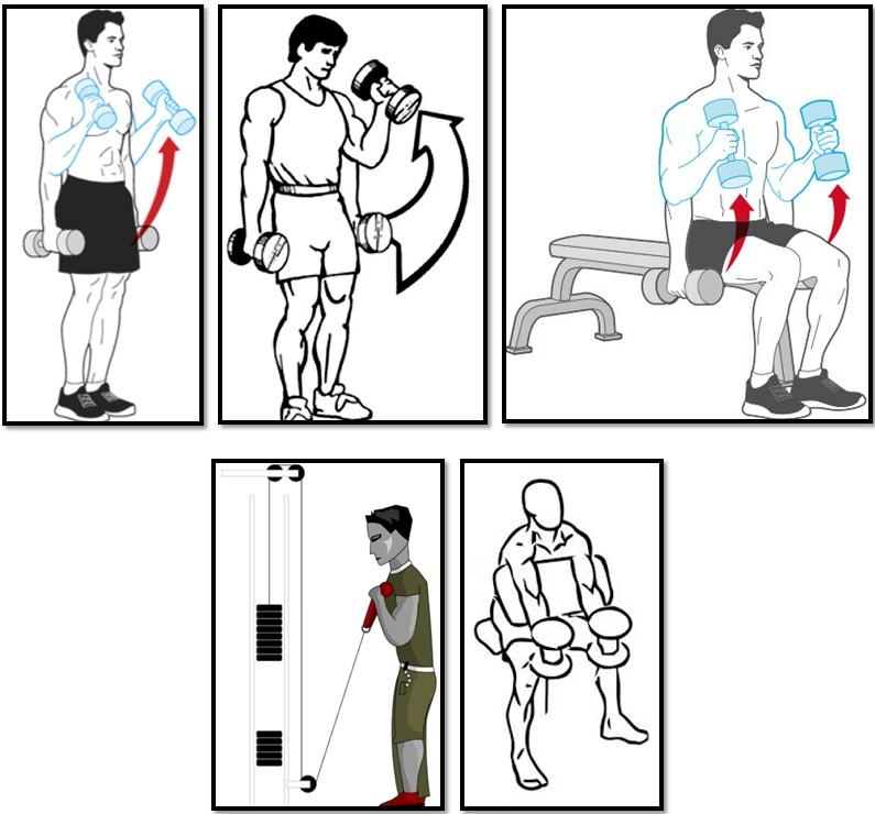 Упражнение молот варации