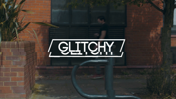 Glithy Opener - Project for After Effects (Videohive)