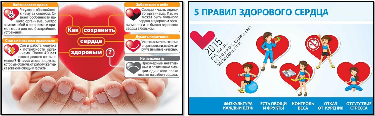 Как сохранить сердце здоровым плакаты