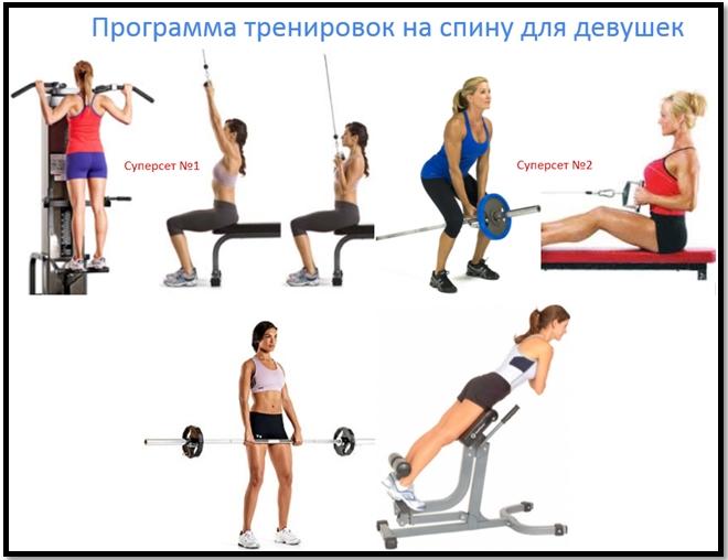 Программа тренировок спины №3 атлас упражнений