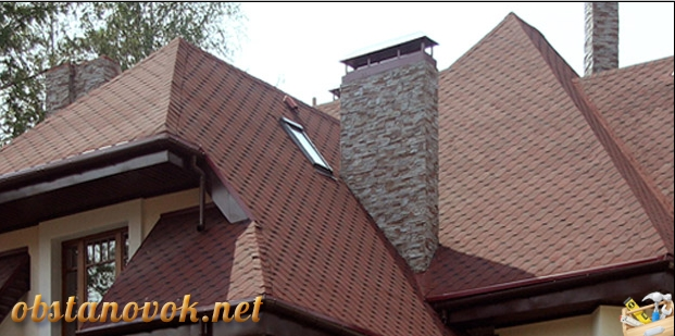 крыша из шингласа