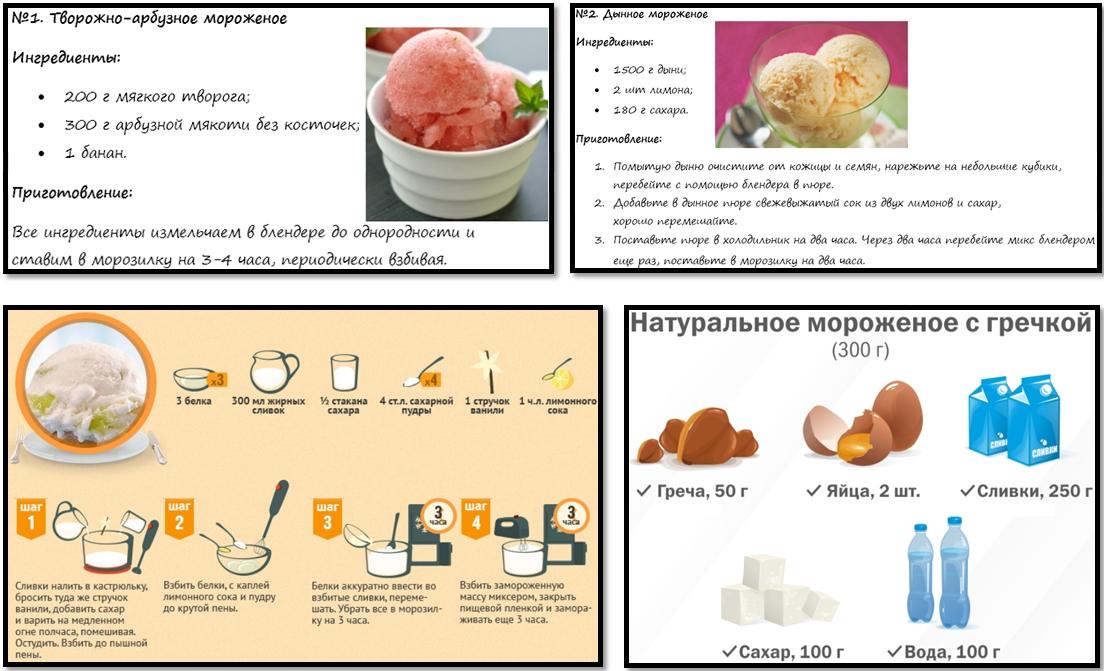 Как сделать мороженое без молока и сливок
