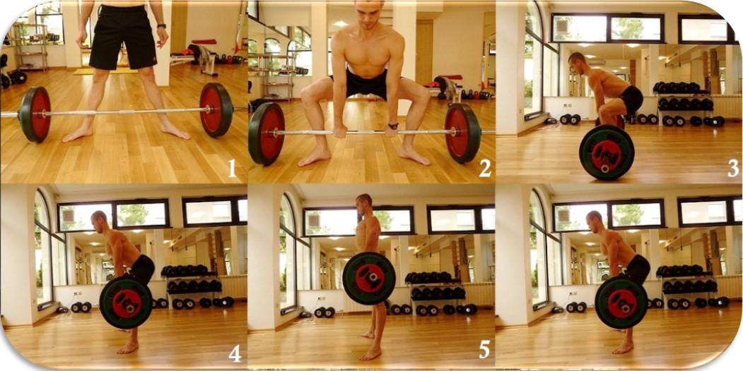 Становая тяга сумо, пошаговая техника, разные ракурсы
