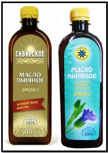 льняное масло с селеном