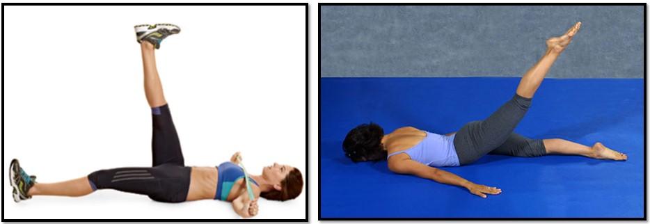 упражнения от растяжек на бедрах и ягодицах