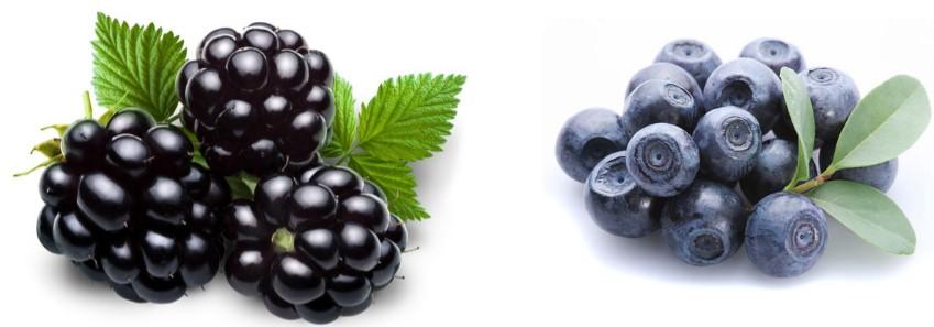 диета при целлюлите, ягоды