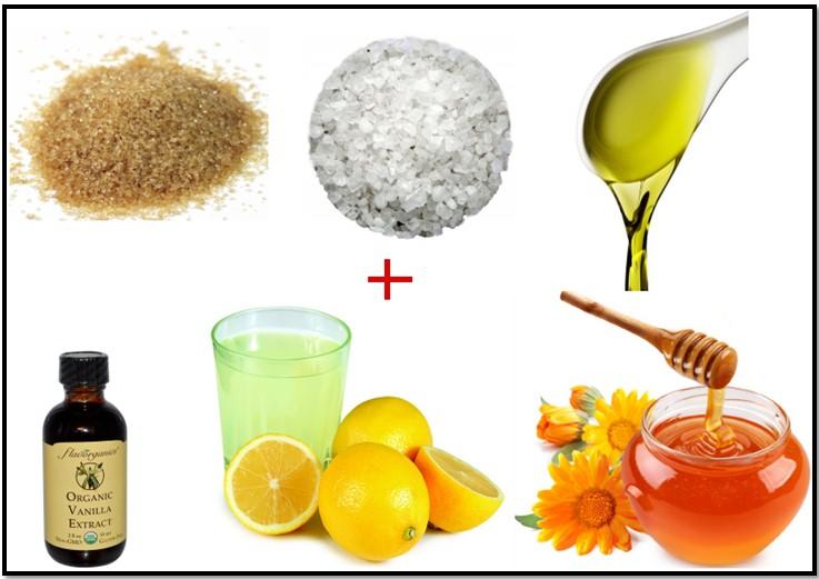 антицеллюлитный скраб, рецепт 3