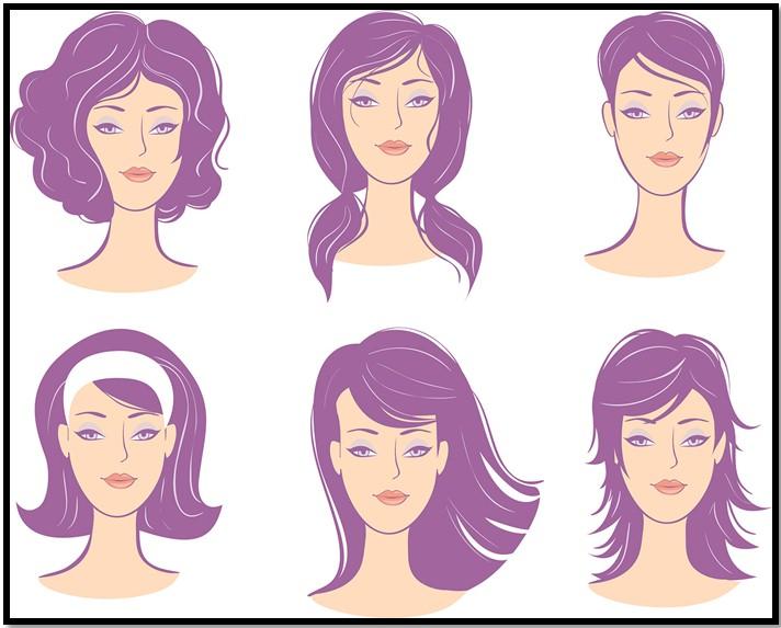 прическа по типу лица