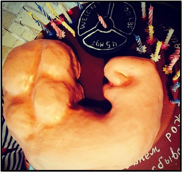 Азбука Бодибилдинга торт